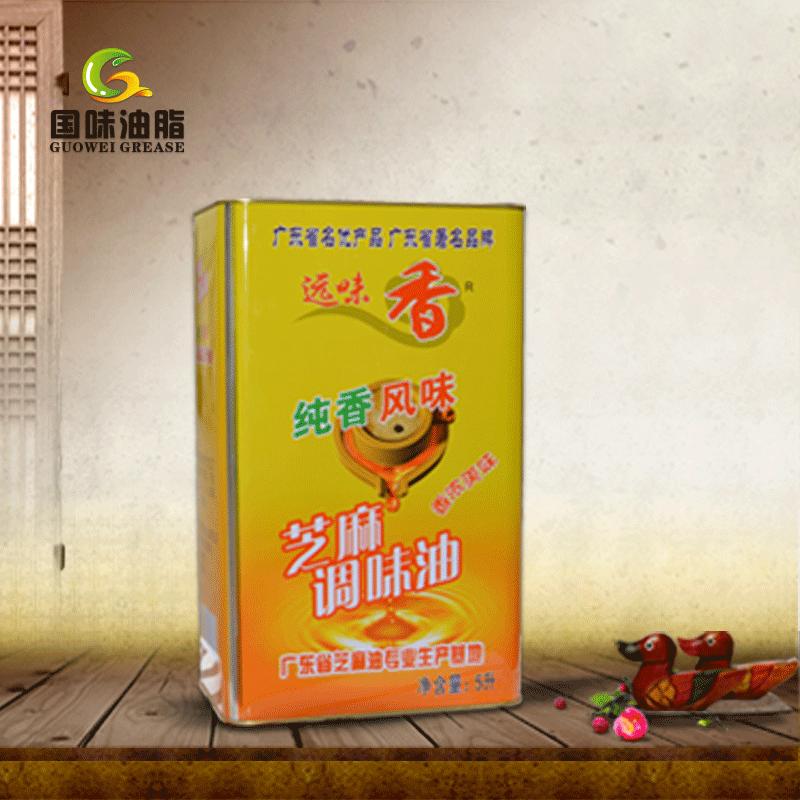 广州市国味油脂 - 芝麻香油-纯香风味